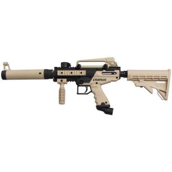 Tan cronus-tactical-paintball-gun